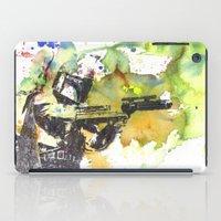 Boba Fett Firing Off Gre… iPad Case