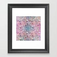 Theta Print-Pastel Framed Art Print