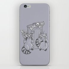 Fancy Raccoons iPhone & iPod Skin
