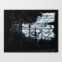 Summer Set (Variant) Canvas Print