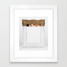 Sight Line Framed Art Print