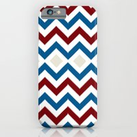 Nautical Chevron iPhone 6 Slim Case