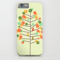 iPhone & iPod Case featuring Happy Tree - Tweet Tweet by Budi Kwan