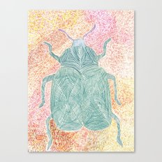 The Beetle Canvas Print