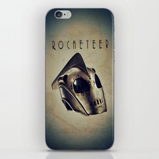 ROCKETEER! iPhone & iPod Skin
