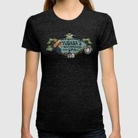 Yubaba's Bathhouse Womens Fitted Tee Tri-Black SMALL