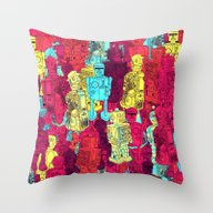 Mr. Robot, Your Screw Is… Throw Pillow