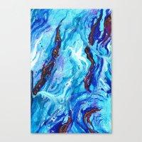 Opal Ocean  Canvas Print