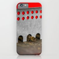 The Bee has the entry of the hive iPhone 6 Slim Case