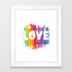 For Love 1 Framed Art Print