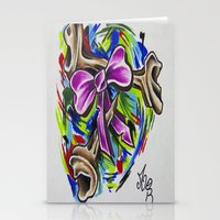 Coloured By Confusion Stationery Cards