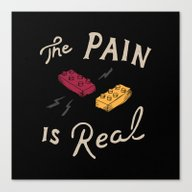Real Pain Canvas Print