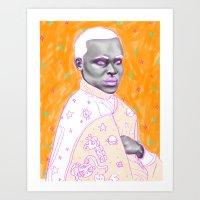 Naranja Art Print