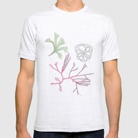 Seaweed And Lotus Root Mens Fitted Tee Ash Grey SMALL