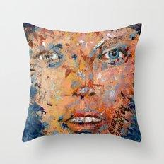 sedated dream Throw Pillow
