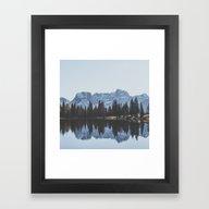 Italian Dolomites  Framed Art Print