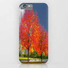 color my trees iPhone 6 Slim Case