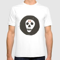 thirteen SMALL White Mens Fitted Tee
