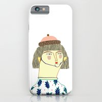 Women. fashion, fashion illustration, fashion print, fashion art, pattern, people,  iPhone 6 Slim Case