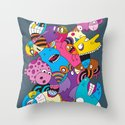 Rightside Up Throw Pillow