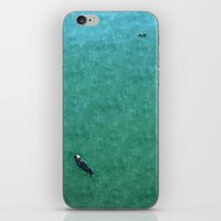 Otters iPhone & iPod Skin