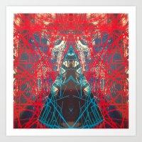 FX#505 - Kryptonian Oblo… Art Print