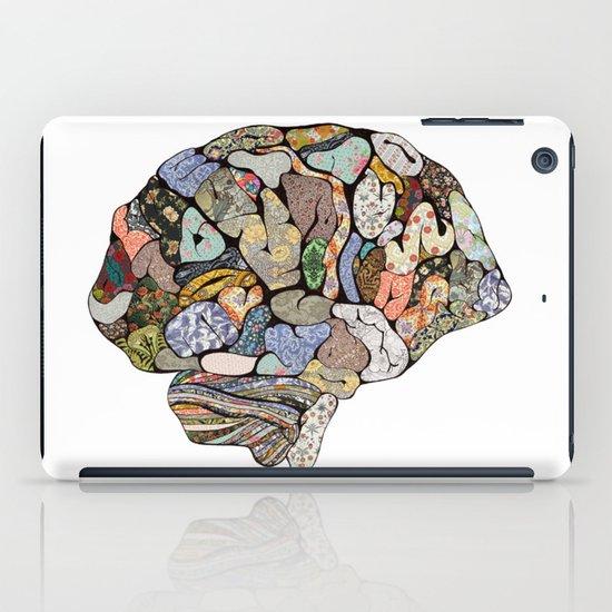 my brain looks different iPad Case