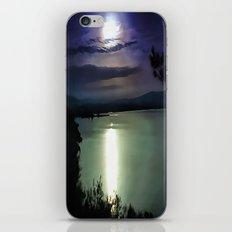 Blue Coastal Sunset iPhone & iPod Skin