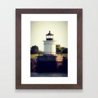 Lighthouse 1 Framed Art Print