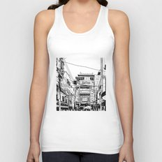 Yokohama - China town Unisex Tank Top