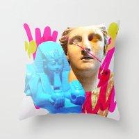 Treasures V Throw Pillow