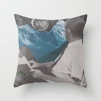 I Like The Way You Look At The World Throw Pillow