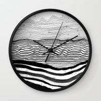 Pattern 22 Wall Clock