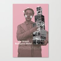 The Grand Budapest Hotel… Canvas Print