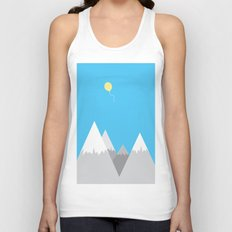 Up, up and away Unisex Tank Top