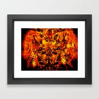 Demons Framed Art Print