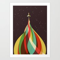 Kaleidoscope to the Stars Art Print