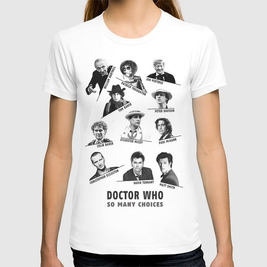 So Many Choices (Doctor Who) T-shirt