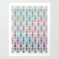 Mermaid's Braids - A Col… Art Print