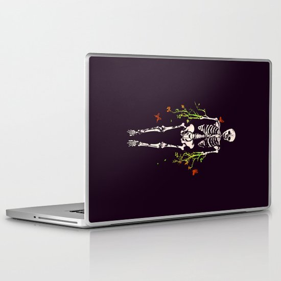 Dead is dead Laptop & iPad Skin