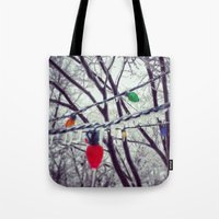 Frozen Lights Tote Bag