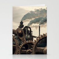 Wheels of Industry Stationery Cards