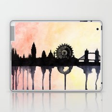 London Watercolour Skyline Laptop & iPad Skin