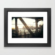 Feel It All Around Framed Art Print