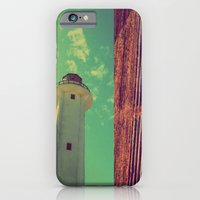 iPhone & iPod Case featuring lighthouse by Laura Moctezuma