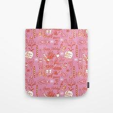 Holly-Day Grab Bag Tote Bag