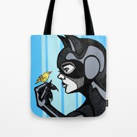 Catwomen In Color Tote Bag