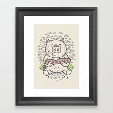 Bacon's Sandwich Framed Art Print