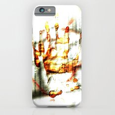 Trace of the hand iPhone 6 Slim Case