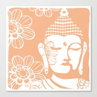 Peach Bliss Canvas Print